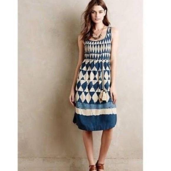 8a6dfa25 Maeve Dresses   Anthropologie Geometric Sleeveless Petites Dress ...